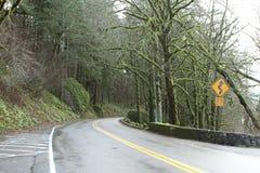 Carretera de la montaña Fotografía de archivo libre de regalías