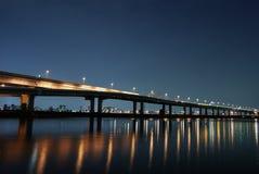 Carretera de la noche Imagenes de archivo