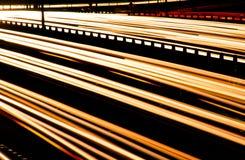 Carretera de la noche Fotos de archivo