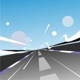 Carretera de la velocidad stock de ilustración
