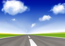 Carretera de la velocidad foto de archivo libre de regalías