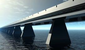 Carretera de la velocidad del cielo Imagen de archivo libre de regalías
