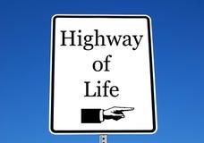 Carretera de la vida foto de archivo libre de regalías