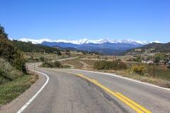 Carretera de leyendas Foto de archivo