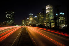 Carretera de Los Ángeles Fotografía de archivo libre de regalías
