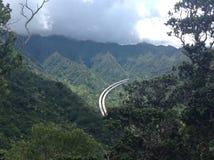 Carretera de Pali Fotos de archivo