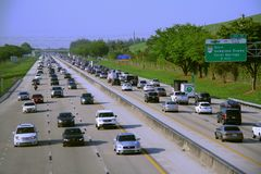 Carretera de peaje de la Florida Imagen de archivo libre de regalías