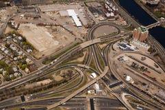 Carretera de peaje de Massachusetts Fotos de archivo libres de regalías