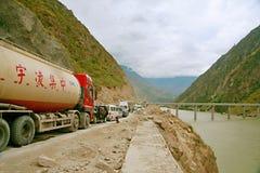 carretera de Sichuan-Tíbet fotos de archivo