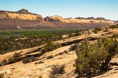Carretera 95 de Utah Imágenes de archivo libres de regalías