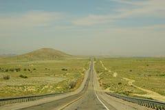 Carretera del área de la esquina de New México cuatro Fotos de archivo