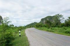 Carretera del asfalto Fotos de archivo