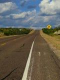 Carretera del balanceo Fotografía de archivo