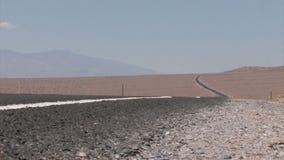 Carretera del desierto almacen de metraje de vídeo
