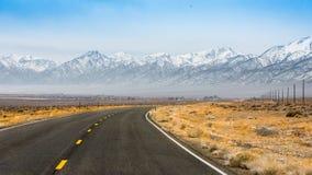 Carretera del desierto Fotos de archivo