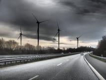 Carretera del filtro de HDR con energía Imagen de archivo libre de regalías
