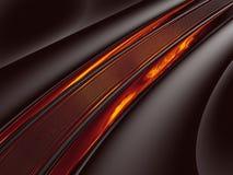 Carretera del fuego del fractal Imagen de archivo