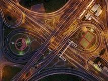Carretera del infinito Foto de archivo libre de regalías