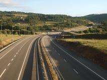 Carretera del país Imagen de archivo libre de regalías