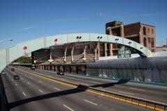 Carretera del puente Fotos de archivo