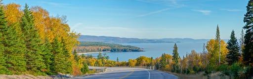 Carretera del transporte Canadá Imágenes de archivo libres de regalías