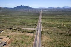 Carretera despreocupada Fotografía de archivo libre de regalías