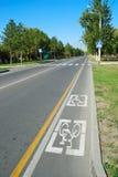 Carretera directa Imagen de archivo libre de regalías