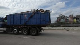 Carretera en Baltimore almacen de metraje de vídeo