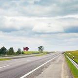 Carretera en Bielorrusia Imagen de archivo
