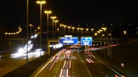 Carretera en Bruselas imagenes de archivo