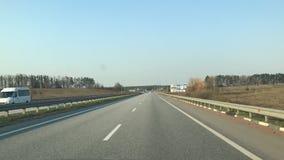Carretera en Europa - velocidad almacen de video