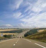 Carretera en Francia foto de archivo libre de regalías