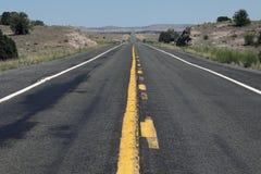 Carretera en los E.E.U.U. Imagen de archivo
