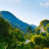 Carretera en Tailandia Imágenes de archivo libres de regalías