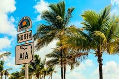 Carretera escénica de la Florida Fotos de archivo libres de regalías