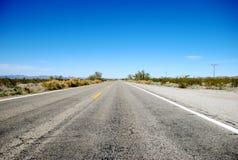 Carretera generalmente de Arizona Fotografía de archivo libre de regalías