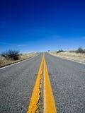 Carretera infinita Fotografía de archivo libre de regalías