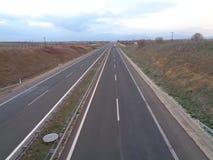 Carretera internacional de Egnatia en Grecia fotos de archivo libres de regalías