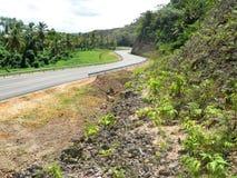 Carretera Juan Pablo ΙΙ Δομινικανή Δημοκρατία εθνικών οδών στοκ φωτογραφίες με δικαίωμα ελεύθερης χρήσης