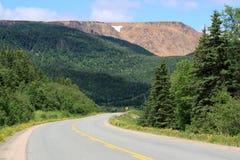 Carretera a las altiplanicies Imagenes de archivo