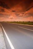 Carretera mística Fotografía de archivo