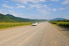 Carretera nacional. Fotografía de archivo libre de regalías