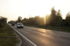 Carretera nacional Fotos de archivo