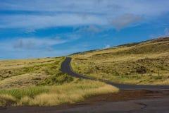 Carretera nacional de Hawaii Maui a Hana fotografía de archivo libre de regalías