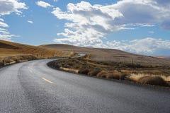 Carretera nacional de la bobina Foto de archivo libre de regalías