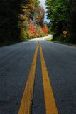 Carretera nacional de la caída Fotografía de archivo libre de regalías