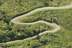 Carretera nacional del enrollamiento. imágenes de archivo libres de regalías