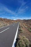 Carretera nacional a en ninguna parte Imágenes de archivo libres de regalías