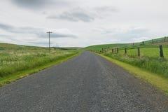 Carretera nacional en otoño Imagen de archivo libre de regalías