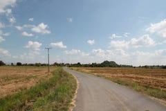 Carretera nacional en Tailandia Imagen de archivo libre de regalías